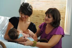 consultant en lactation pour maman